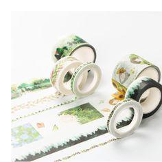 $0.87 (Buy here: https://alitems.com/g/1e8d114494ebda23ff8b16525dc3e8/?i=5&ulp=https%3A%2F%2Fwww.aliexpress.com%2Fitem%2FInfeel-Green-Series-washi-tape-DIY-decorative-scrapbooking-planner-masking-adhesive-tape-label-sticker-stationery%2F32717986486.html ) Infeel Green Series washi tape DIY decorative scrapbooking planner masking adhesive tape label sticker stationery for just $0.87