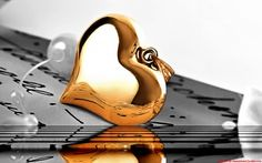 Gold Heart Photo:  This Photo was uploaded by jade95_2010. Find other Gold Heart pictures and photos or upload your own with Photobucket free image and v...
