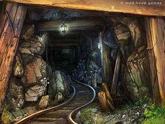 the Mine by Tsabo6.deviantart.com on @deviantART