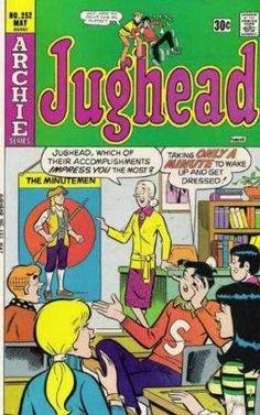 Jughead issue 252   Sardonic humor?