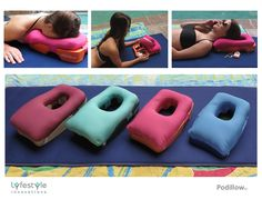 Podillow - The perfect face-down tanning & massage pillow