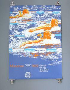 """grafiktrafik: """"design by Otl Aicher for Munich Olympics 1972 http://grafiktrafik.tumblr.com """""""