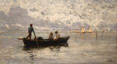 Laguna di Chioggia - 1886