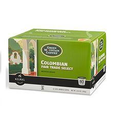 Green Mountain Coffee Colombian Fair Trade Select Kcup Packs  80 Ct * Learn more by visiting the image link. (This is an affiliate link)
