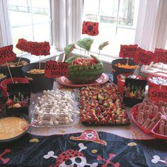 Jacks pirate party snacks
