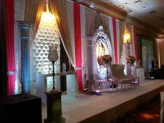 Vintage Flair Wedding Decor Toronto Big Fat Indian Wedding, South Asian Wedding, Toronto, Tamil Wedding, Green Weddings, Indian Weddings, Indian Wedding Decorations, Tablescapes, Wedding Reception