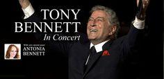 Living Legend Tony Bennett debuts on The Mahaffey Theater stage Wednesday, Feb. 12, 2014.  http://www.themahaffey.com/show/Tony-Bennett/236