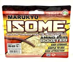 Marukyu Isome Grab & Go Sandworm Pack Is-03 L Amino Acid Boosted Fishing Bait Fishing Bait, Amino Acids, Packing, Amp, Ebay, Bag Packaging