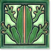 Frog by by Motawi Tile