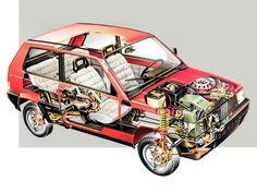 desenhos tecnicos de carros - Google Search