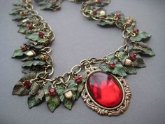 Fairy Queen Necklace  Fairy Jewelry  by SilverTrumpetJewelry, $135.00