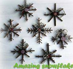 Amazing snowflake