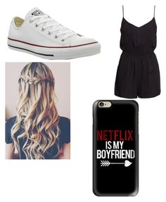 Untitled #10 by skylakilgore on Polyvore featuring polyvore, fashion, style, H&M, Converse and Casetify