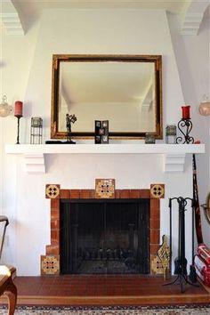 Spanish Style Fireplace