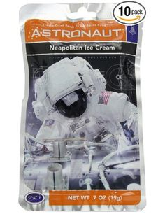 American Outdoor Products Astronaut Ice Cream (Pack of 10): Amazon.com: Grocery & Gourmet Food
