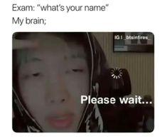 Emm...bitch I forgot my name