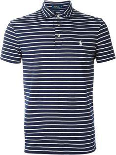 POLO RALPH LAUREN Striped Polo Shirt. #poloralphlauren #cloth #shirt