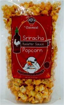 Sriracha Popcorn - sounds delicious! $6