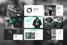 PORTFO Keynote Template by Angkalimabelas on @creativemarket