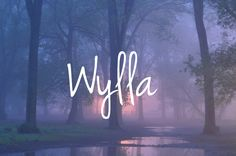 """Wylla - unique baby girl name! Can be pronounced: """"Why-la"""" or """"Will-a"""""""