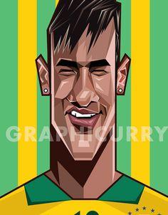 caricatura-de-neymar-jr.jpg (565×724)