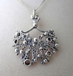 "#shop > Martti Viikinniemi (FI), vintage modernist silver ""starbust"" necklace, 1970s. #finland | finlandjewelry.com"