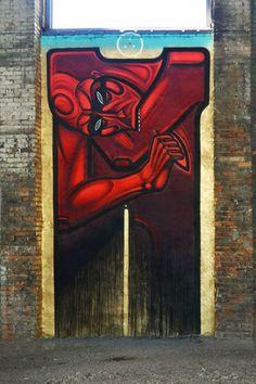 Sergiy Radkevich via PinchukArtCentre. #artecallejero