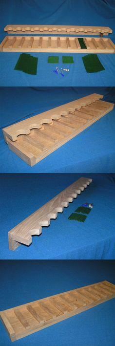 Racks 73961: 12 Gun - Wood Closet Gun Rack With Floor Rest - Solid Oak -> BUY IT NOW ONLY: $89.99 on eBay!