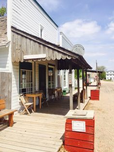 Stuhr Museum in Grand Island, Nebraska, is a collection of things from the Prairie Pioneer days