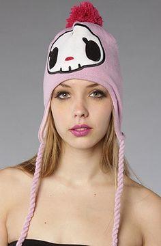 tokidoki The Ciao Ciao Knit Beanie,Hats for Women