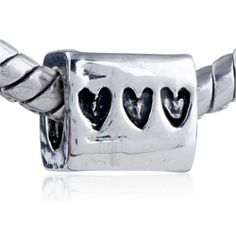 Pugster Charm Heart Custom Bead European Love Fit Pandora Chamilia Biagi Charm Bracelet Pugster. $9.34. Money-back Satisfaction Guarantee. Fit Pandora, Biagi, and Chamilia Charm Bead Bracelets. Unthreaded European story bracelet design. Pugster are adding new designs all the time. Free Jewerly Box