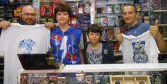 Boss&Sca con i fratelli Gabriele & Andrea Lo Rillo: grazie per le stupende magliette!