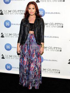 Celebrity Style Trend: Crop Tops-Demi <3