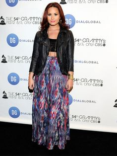 Celebrity Style Trend: Crop Tops-Demi <3