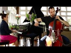 Saint-Saëns: The Swan (Cello and Piano) - Brooklyn Duo - YouTube