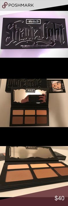 Kat Von D- Shade+light contour palette Swatched once on the left side! Otherwise brand new! Kat Von D Makeup