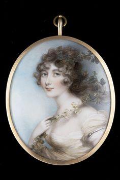 Portrait of Lady Elizabeth Whitbread by Andrew Plimer