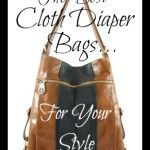 Best Cloth Diaper Bags