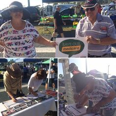 At Beenleigh Markets in Forde electorate today. People are very unhappy about cuts to Medicare funding & services & having to pay for diagnostic services! #savemedicare #BetterFuture #ausunions #proudtobeunion