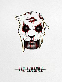 The Colonel from Hotline Miami 2 by tramvaev on DeviantArt
