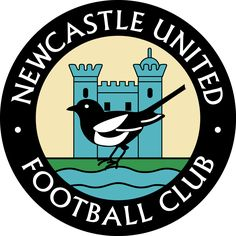Newcastle United Football Club - England (Old logo) Soccer Logo, Football Team Logos, Sports Team Logos, Football Design, College Football, Soccer Teams, Football Football, English Football Teams, British Football