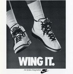 Michael Jordan 'Wing It' Air Jordan II 2 Nike Air Jordan Poster