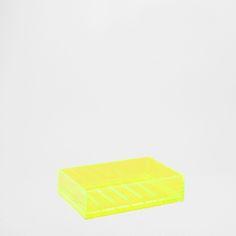 NEON YELLOW SOAP DISH - SALE | Zara Home United Kingdom