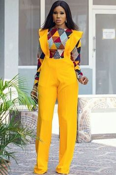 Rock the Latest Ankara Jumpsuit Styles these ankara jumpsuit styles and designs are the classiest in the fashion world today. try these Latest Ankara Jumpsuit Styles 2018 Latest African Fashion Dresses, African Inspired Fashion, African Dresses For Women, African Print Dresses, African Print Fashion, Africa Fashion, African Attire, African Wear, African Women