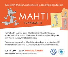 MAHTI-tunnekortit | Tukiliitto Early Education, Early Childhood Education, Special Education, Teaching Kindergarten, Preschool, Les Sentiments, Beginning Of School, Social Skills, Self Esteem