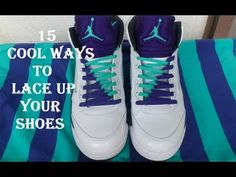 15 Cool Ways of Lacing up Your Shoes - Fasten Your Shoe Laces in Style