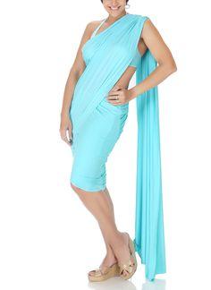 Mandira Bedi   Blue Mini Lycra Saree   Shop Sarees at strandofsilk.com