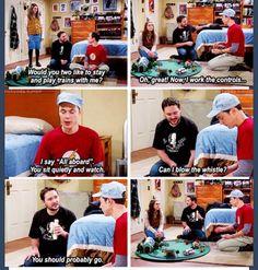 Hahahah ,Sheldoooonnn :dd Sheldon and Will..... #TheBigBangTheory #Season7 #Episode10 #Ilikeit