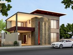 Nice House Design modern house front elevation designs - google search | house