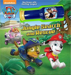 """Mackenzie Buckley - """"PAW Patrol"""": Jungle Search and Rescue (Simon and Schuster) Paw Patrol Books, Rubble Paw Patrol, Car Themed Parties, Kids Running, Running Shoes, Search And Rescue, Animal Party, Rescue Dogs, Little Ones"""